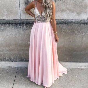 True love beaded maxi dress